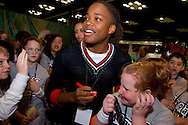 Nickelodeon star Leon Thomas seen at the NFL Experience during Super Bowl XLVI activities at the Indiana Convention Center in Indianapolis, Indiana. Michael Hickey, Getty Images for Nickelodeon.