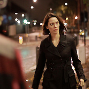 Actress Rebecca Hall on set of short film 'Ruminate'. <br /> Director : Claire Leona Apps<br /> Cinematographer : Maeve O'Connell<br /> Production Company : Dog Eared Films