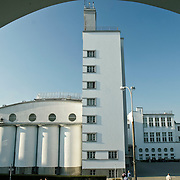 Warsaw Poland, Academy of Phisical Education architecture