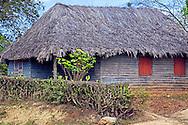 Thatched house near Velasco, Holguin, Cuba.