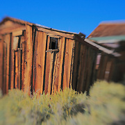 Collapsing Shack - Bodie, CA - Lensbaby