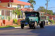 Old Russian truck in Vinales, Pinar del Rio, Cuba.