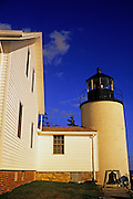 Image of Portland Head Lighthouse at Cape Elizabeth, Maine, American Northeast