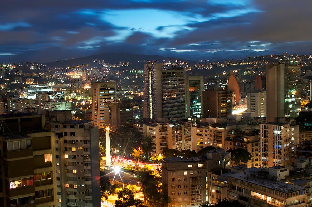 Altamira plaza in Caracas, Venezuela.
