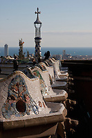Park Guell in Barcelona Photography shoot in 2008 by Christopher Holt