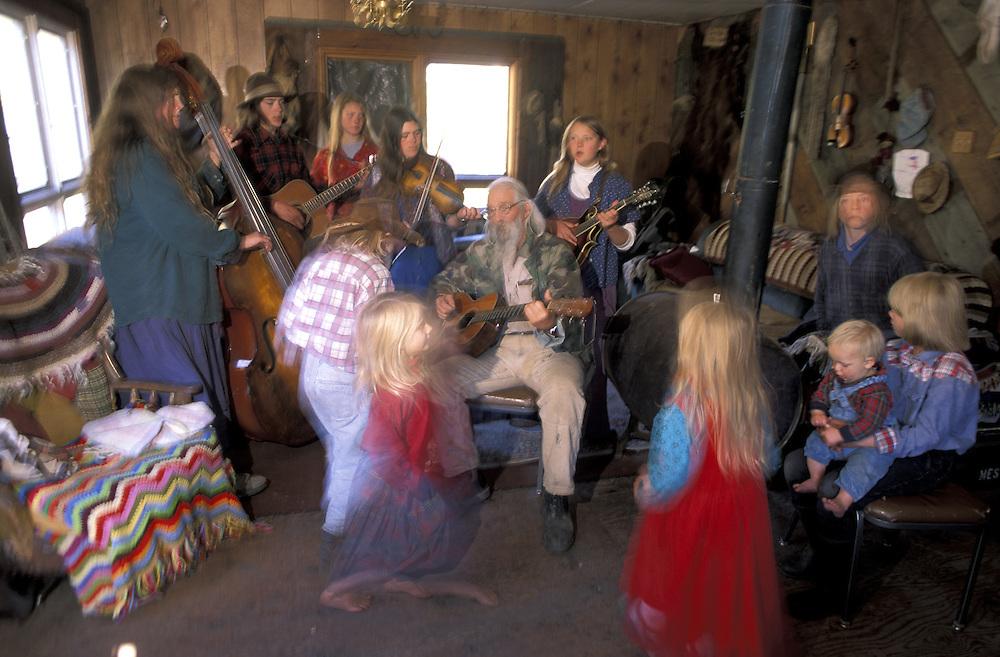 Morning Jam.The Pilgrim Family.Alaska.USA