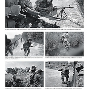 2008 coverage of frontline fighting  in Kandahar, Afghanistan in The Toronto Star. Photo editor Ken Faught.