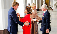 14-10-213  STOCKHOLM – Official 1 day Visit of Dutch king Willem Alexander and queen Maxima  to Sweden and they meet the Swedish king Carl Gustaf and Queen Silvia and Princess Victoria and Prince Daniel. COPYRIGHT ROBIN UTRECHT
