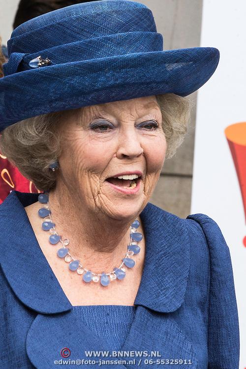 NLD/Utrecht/20140628 - Prinses Beatrix aanwezig bij de viering van 200 jaar Nederlands Bijbelgenootschap, Prinses Beatrix