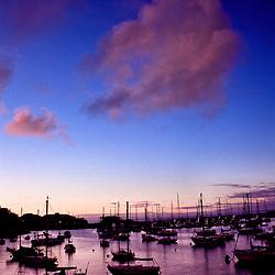 Monterey Bay marina, Monterey Bay, California