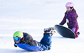 Edmonton Ski Hill Jan 2016