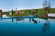 Eventing (equestrian triathlon), Cross Country competition, The Event at Rebecca Farms,  Kalispell, Montana, Anni Grandia, German Warmblood/Thoroughbred