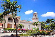 The main street in Puerto Padre, Las Tunas, Cuba.