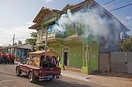 Parade in Niquero, Granma Province, Cuba.
