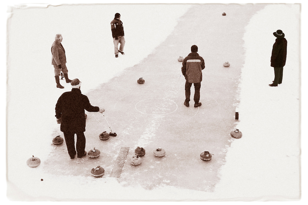 A bonspiel, Brechin, winter 2009-10