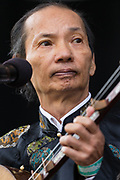 Hanoi Master Van Anh Vo performs at Womadelaide 2017 Music Festival held between 10 - 13 March 2017 in Adelaide, South Australia