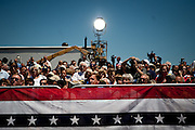 Supporters for GOP presidential candidate Gov. Mitt Romney at a campaign rally at Carter Machinery Company in Salem, Virginia, June 26, 2012.