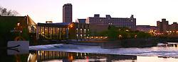 Downtown South Bend..Photo by Matt Cashore