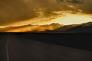 Big Hole Valley, Beaverhead Mountains, Highway 278, Montana, sunset, On The Road