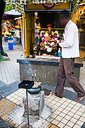 Shrine opposite the Sri Maha Mariamman Temple.