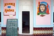 Chess club in Velasco, Holguin, Cuba.