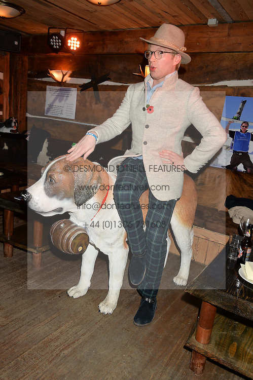 HENRY CONWAY at Skiing With Heroes Junior Committee Awareness Party held at Bodo's Schloss, 2A Kensington High Street, London on 6th November 2014.