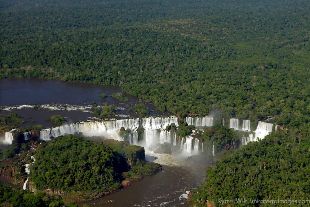 South America, Brazil, Iguacu Falls.