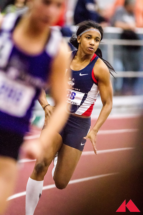 ECAC Indoor Champs, womens 200 , Anderson, Taylor          SO Connecticut