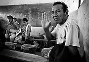The lawsuit alleged that Texaco used a variety of sub-standard production practices in Ecuador that resulted in the dumping of billions of gallons of toxic waste into Amazon waterways.   Five indigenous groups have had their traditional lifestyles decimated, and one group (the Tetetes) has disappeared.<br /> <br /> http://www.texacotoxico.org/eng/<br /> <br /> http://www.threeblindmen.com