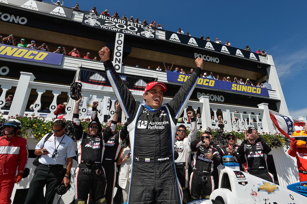 Juan Pablo Montoya, Pocono Raceway, USA 7/6/2014