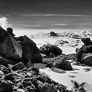 Near the summit in Citlaltepetl Volcano (Pico de Orizaba) Mexico