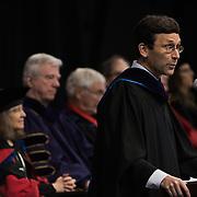Washington State Attorney GeneralRobert Fergusondelivered the keynote address at the Law School Commencement. (Gonzaga photo)