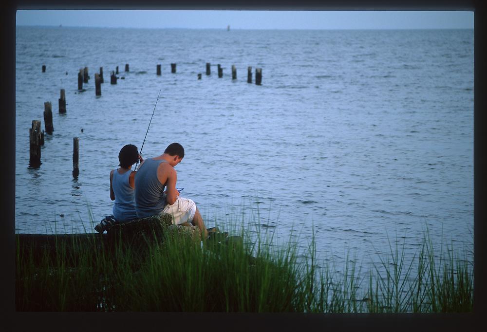 Lake Pontchartrain North Shore, Near Bayou Lacombe