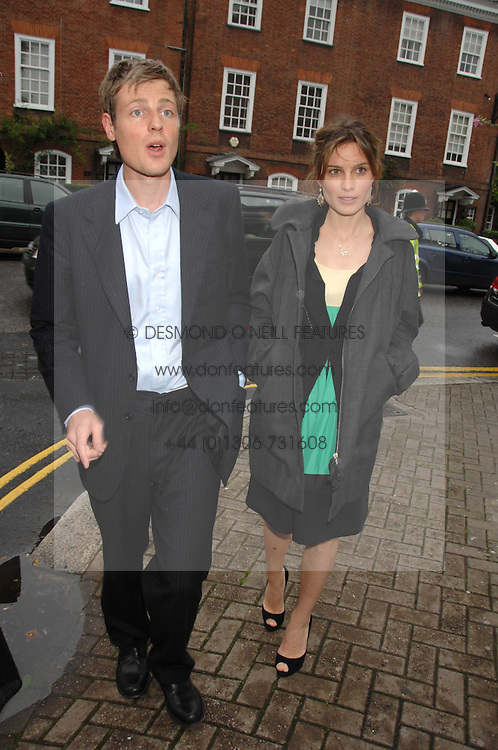 ZAC &amp; SHEHERAZADE GOLDSMITH at the annual Sir David &amp; Lady Carina Frost Summer Party in Carlyle Square, London SW3 on 5th July 2007.<br /><br />NON EXCLUSIVE - WORLD RIGHTS