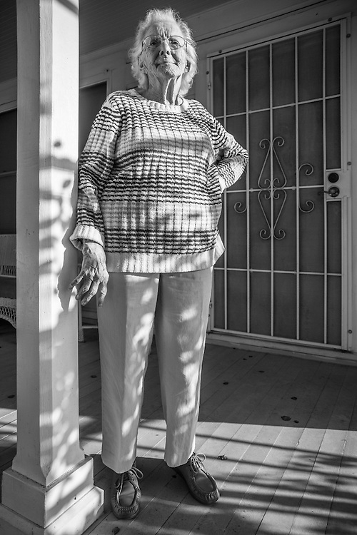 Calistoga resident Audrey Lattemore turned 99 last month.  After a lifetime of rice farming near Sacramento, Audrey now lives in her older sister&rsquo;s house, a house left to her nephew, Robert Grahn, under the caveat that Audrey would be able to reside there as long as she lives.<br /> <br /> &ldquo;I don&rsquo;t think anyone thought I would live this long&hellip;longevity runs in my family, but not this much!&rdquo;<br /> <br /> Audrey is totally independent.  She gets around well, her hearing is perfect and she is as sharp as anyone half her age.  But, the most impressive fact about Audrey is that she is able to turn out 15 quilts each month for veteran hospitals.  She is proud of her quilts and the fact that she can still contribute at age 99.  rgrahn3@gmail.com  (Bob)
