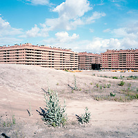 Residencial Francisco Hernando in Sesena, Spain. Francisco Hernando, known as El Pocero, planned to build the biggest housing development  in Spain's with 13,508 homes. However, only 5,096 houses have building permit, and only 750 people have been registered so far.