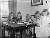 1952 Three pairs of twins living on Courtown Road