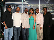 l to r: Michael Ely, Quincy Jones III (QD3), Will Packer, Stephani Frederic, Marc Perry and Nate Parker at the Lincoln Presents ' Off the Red Carpet ' at The 2008 American Black Film Festival at The Sofitel Hotel on August 9, 2008..' Off the Red Carpet ' celebrates the film careers of Hollywood insiders and soon to be released films by Black Filmmakers.
