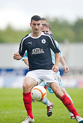 Falkirk's Jonny Flynn..Falkirk 3 v 0 Stirling Albion, Ramsdens Cup..© Michael Schofield.