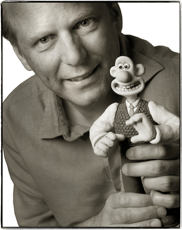 Creator Nick Parks of Wallace & Gromit