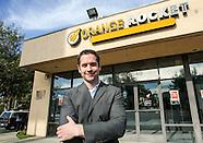 William Lucking, owner of Orange Rocket Cash