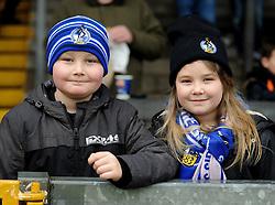 Bristol Rovers fans - Mandatory byline: Neil Brookman/JMP - 07966 386802 - 02/01/2016 - FOOTBALL - Memorial Stadium - Bristol, England - Bristol Rovers v Luton Town - Sky Bet League Two