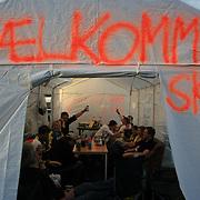 Varm velkomst i Sibirien. Foto: Bente Haarstad Sommerfestivalen i Selbu er en av Norges største musikkfestivaler. Sommerfestivalen is one of the biggest music festivals in Norway.