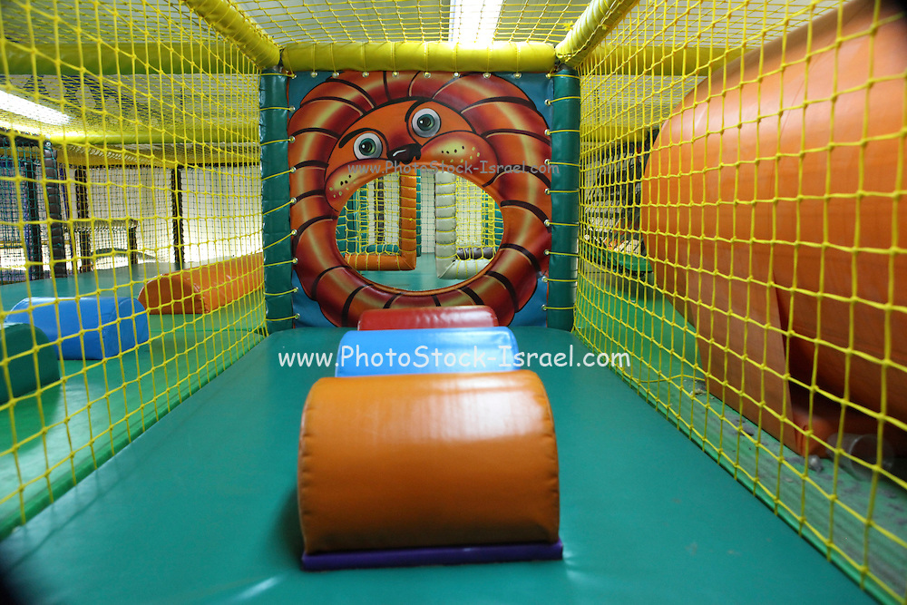 Empty Indoor children's playground