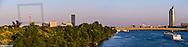 Danube city, river Danube, Vienna, Austria