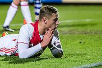 AMSTERDAM - Jong Ajax - FC Eindhoven , Voetbal , Jupiler league , Seizoen 2016/2017 , Sportpark de Toekomst , 24-02-2017 , Jong Ajax speler Kaj Sierhuis