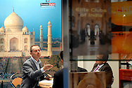 UK. London. London Book Fair at the Earls Court Exhibition Centre in London..Photo shows the deals being made and discussions taking place in the International Rights Centre of the hall..Photo@Steve Forrest for The New York Times.
