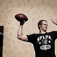 New Orleans Saints Quarterback Drew Brees during training in San Diego, CA.