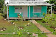 Volveran and house in Las Pozas, Pinar del Rio, Cuba.