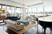 The Manhattan apartment of actress Natalie Portman.